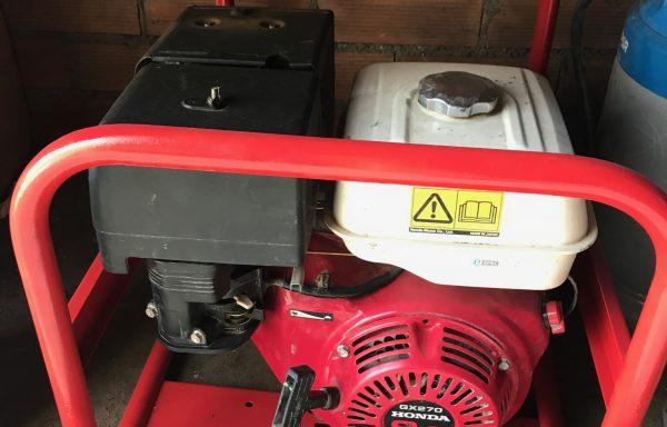 Generador luz gasolina